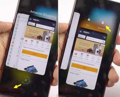 multi windows realme android