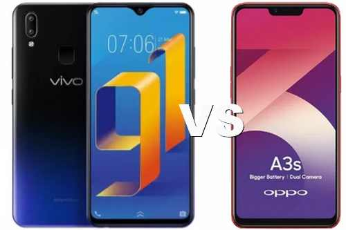 Perbandingan Vivo Y91 dan OPPO a3s