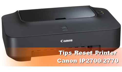 resetter IP2700 2770 CANON PIXMA