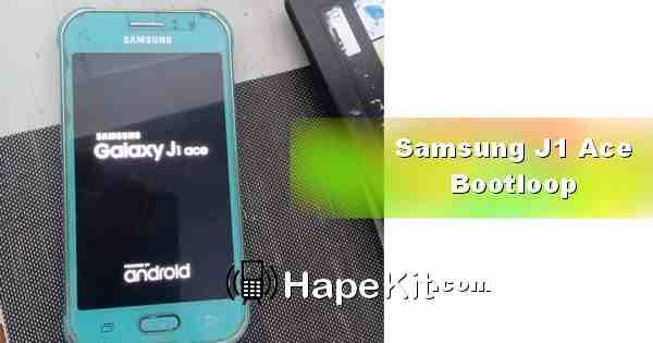 Galaxy J1 Ace hanya tampil logo atau bootloop