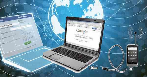 Membagi internet Samsung ke Laptop via usb