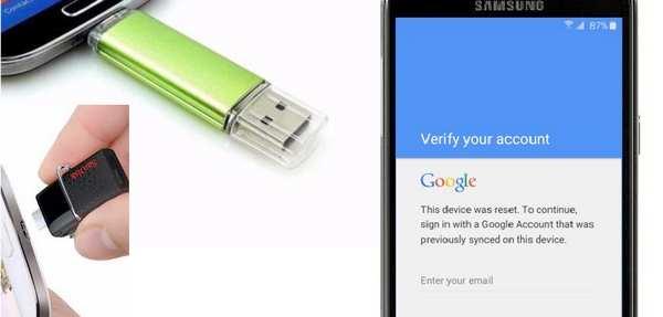Metode OTG Bypass Verifikasi Email Google HP Samsung   HapeKit