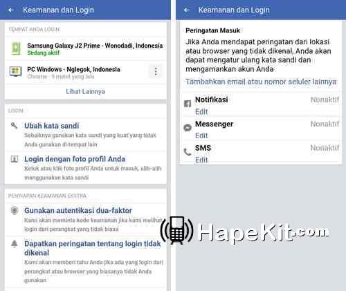 cara mengamankan FB dari pembobol