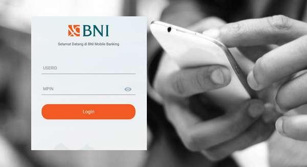 Mencari bukti transfer di aplikasi BNI