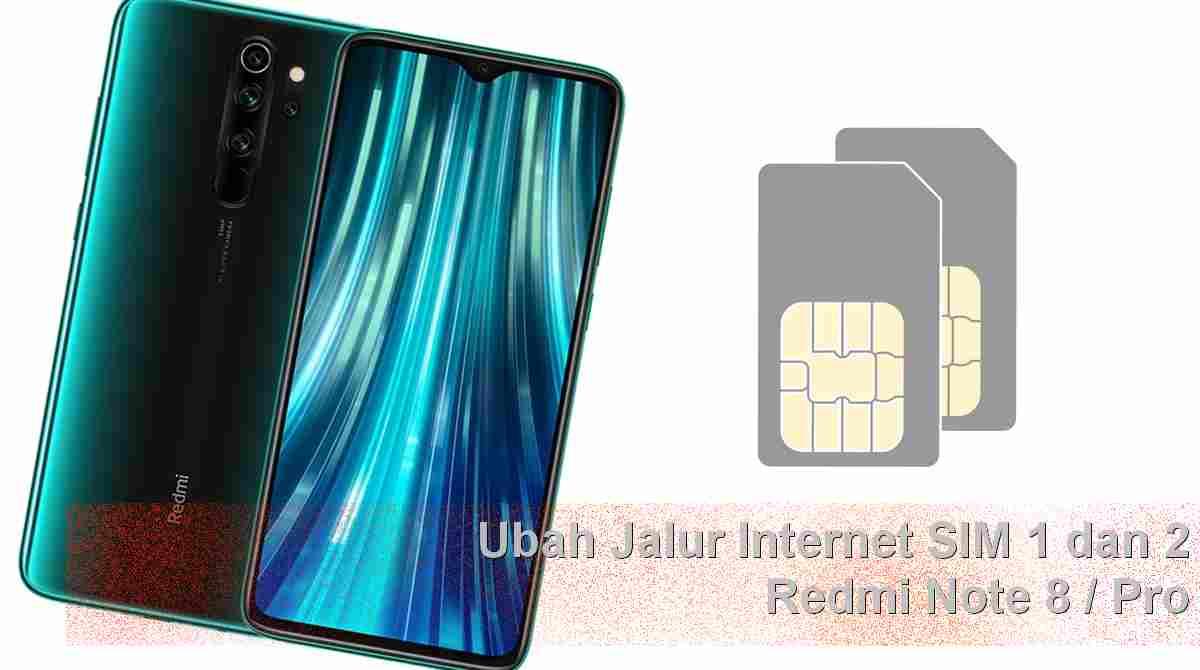 Mengganti jaringan internet Redmi Note 8