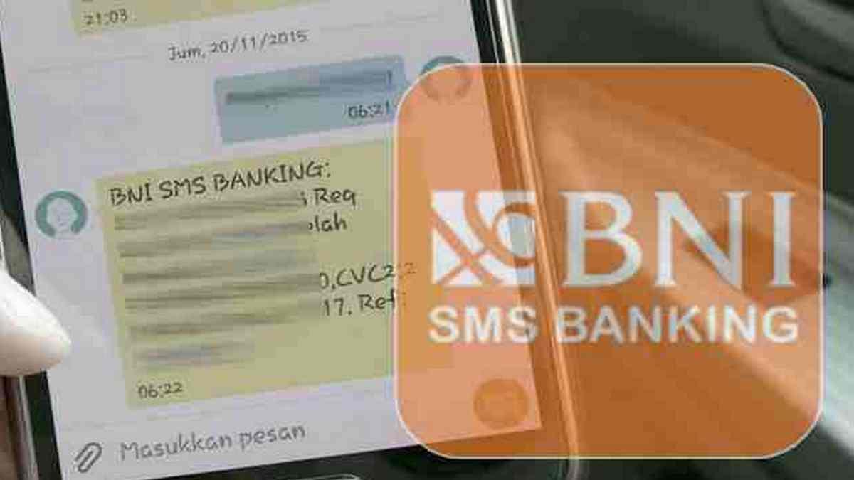 daftar SMS banking BNI via ATM