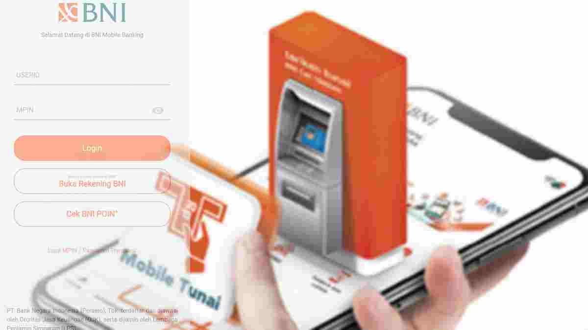 pengambilan uang tanpa kartu ATM BNI