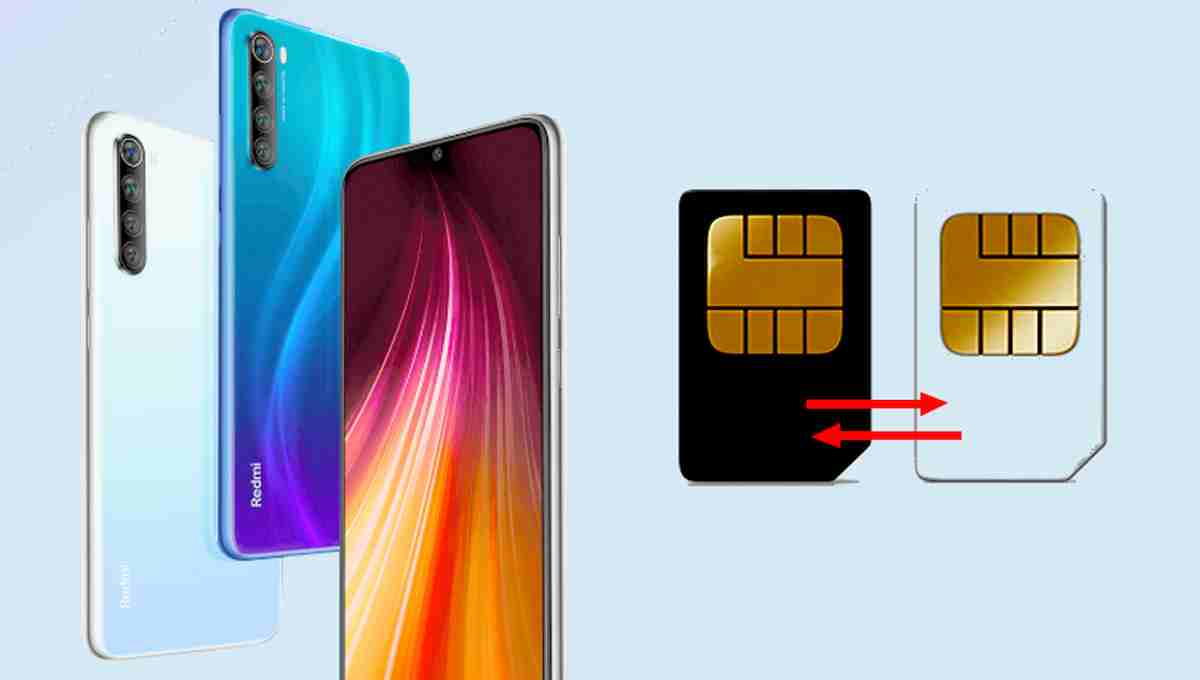 merubah internet SIM 1 ke SIM 2 Redmi Note