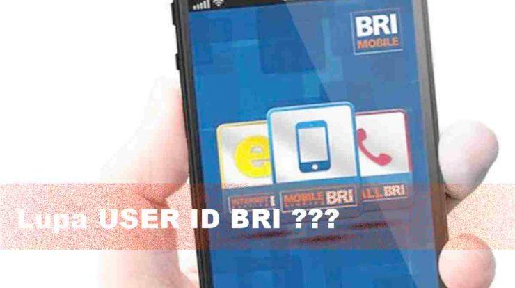 Mengetahui kembali user ID bri lupa