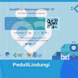 Download dan mencetak kartu vaksin