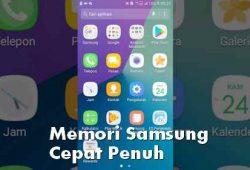 Mengatasi Memori Internal HP Samsung Cepat Penuh