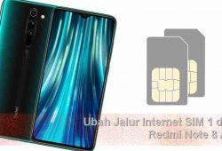 Merubah Jaringan Internet SIM 1 dan 2 Redmi Note 8 / Pro