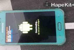 Sukses Flash Ulang HP Samsung J1 Ace Bootloop