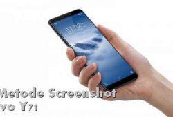 Cara Memotret Layar Vivo Y71 dengan Usapan 3 jari