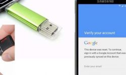 Metode OTG Bypass Verifikasi Email Google HP Samsung