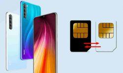 Mengganti Internet SIM 1 ke SIM 2 di HP Redmi Note 8 dan 9