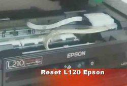 Cara Perbaiki Error Printer Epson L120 dengan Reset Ulang
