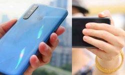Mengaktifkan Tombol Rana sidik jari di kamera HP Realme
